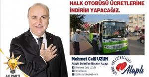'Halk otobüslerinde indirim yapacağız'