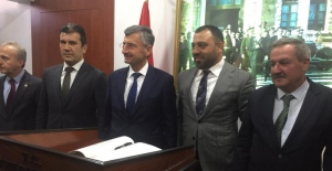 Hamza Yerlikaya Zonguldak'ta