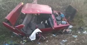 Trafik kazası... 5 kişi yaralandı...