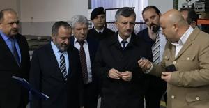 Vali Bektaş, Sanayi kuruluşlarını...
