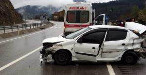 Devrek'te kaza: 4 yaralı var...