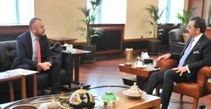 Keleş, Hisarcıklıoğlu ile Ereğli'nin sorunlarını görüştü