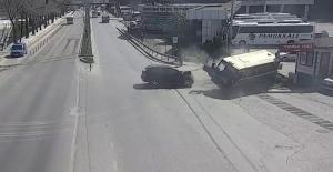 2 kişinin yaralandığı kaza güvenlik...