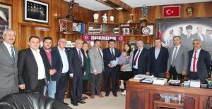CHP'den GMİS'e ziyaret...