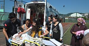 Hava ambulansı Elfin bebek için havalandı