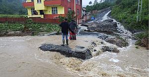 Sele kapıldı dediler, köyde bulundu...