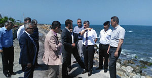 Vali BEKTAŞ, Kilimli sahil yolunu inceledi