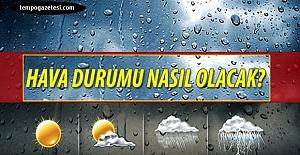 İşte hava durumu: Sağanak yağış geliyor!