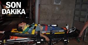 Lunaparkta gondoldan düşen çocuk yaralandı