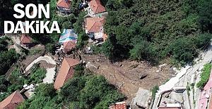 Zonguldak heyelan!.. 6 ev çöktü, 20 kişi evsiz kaldı...