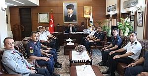 Jandarma teşkilatından Vali Erdoğan Bektaş'a nezaket ziyareti
