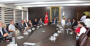 Gökçebey sıkıntılarını Vali Erdoğan'a anlattı...