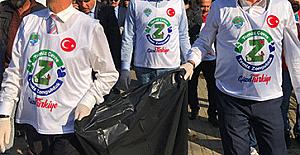 Zonguldak'ı bir güzel temizlediler...