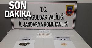 Jandarmadan uyuşturucu operasyonları: 2 gözaltı