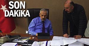 Öztürk'ten DSİ'ye proje ziyareti…