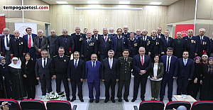 Vali Bektaş, Kıbrıs Barış Harekatı'na katılan gazilerle buluştu
