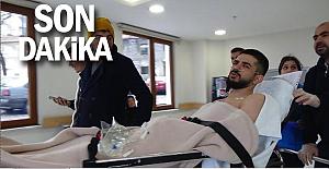 Boynundan vuruldu, gazetecilere 'Ölmedi, diye yazın' dedi
