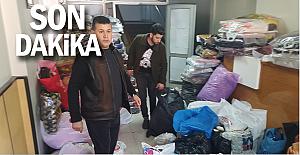Devrek'te Elazığ'a yardım kampanyası başlatıldı