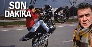 """""""Kask kullanmayan motosikletliler ortalıkta cirit atıyor"""""""