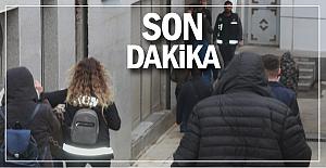 Çete üyesi, gazetecilere saldırdı