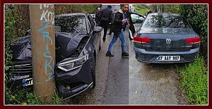 Kozlu'da kaza, 2 kişi yaralandı…