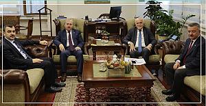 Vekiller, Zonguldak için Vakıflar Genel Müdürü Ersoy'u ziyaret ettiler...