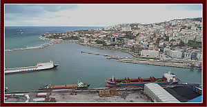 Zonguldak Limanı'nda karona virüs tedbirleri