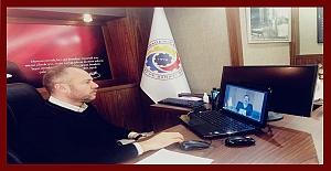 Başkan Keleş, Hisarcıklıoğlu'na ekonomik durumu anlattı