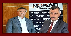 MÜSİAD, Zonguldak Valisi Erdoğan Bektaş'a sahip çıktı...