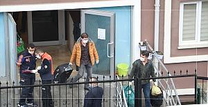 14 günlük süresi dolan 360 kişi kaldıkları yurttan ayrılıyor
