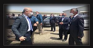 Bakan, Filyos Limanı için Zonguldak'ta…