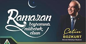 Çetin Bozkurt, Ramazan Bayramını kutladı…