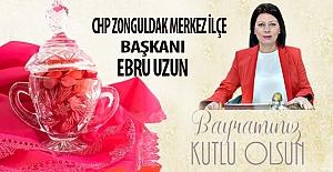 Ebru Uzun, Ramazan Bayramını kutladı…