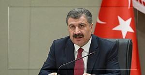 Sağlık Bakanı Fahrettin Koca: 'Şu anki şartlarda salgın kontrol altında'
