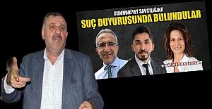 Hakaret, iftira ve tehditlere suç duyurusu: Mafya değil, gazeteciyiz!