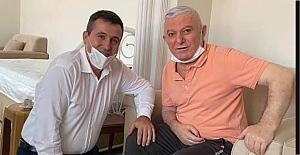 Karayılmaz, Aydoğan'ı evinde ziyaret etti…