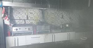 Kozlu'da yangın…