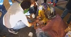 3 yaşındaki çocuk yola fırladı: Kanlar içinde yere yığıldı