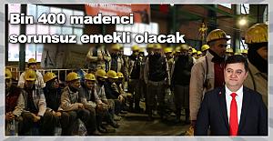 Bin 400 Madenci tazminat alacak