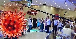 Corona Virüsü, Elizya Düğün Salonun#039;da...