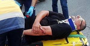 Üst üste kazalar yaşanıyor: 1 Kişi yaralandı