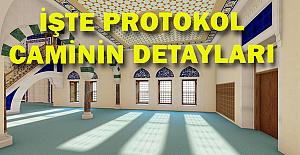 Protokol Cami: 200 Kişilik otopark, 6 asansörlü