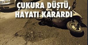 Belediyenin ihmali, genç kızın hayatını mahvetti…