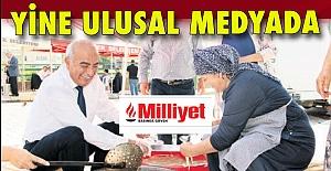 Çetin Bozkurt, Milliyet'in gözünden kaçmadı!