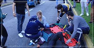 Feci kaza; yaralının durumu ağır