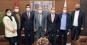 Gelecek Partisi, Vali Tutulmaz'ı ziyaret etti...