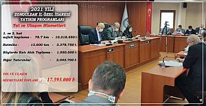 Bütçe onaylandı KÖYDES yatırımları devam edecek