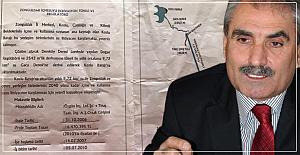 Gonca'dan baraj suyu açıklaması