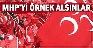Zonguldak Belediyesi MHP'yi örnek alsın