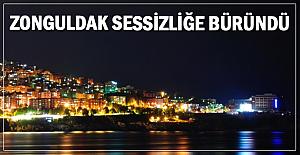Zonguldak sessizliğe büründü